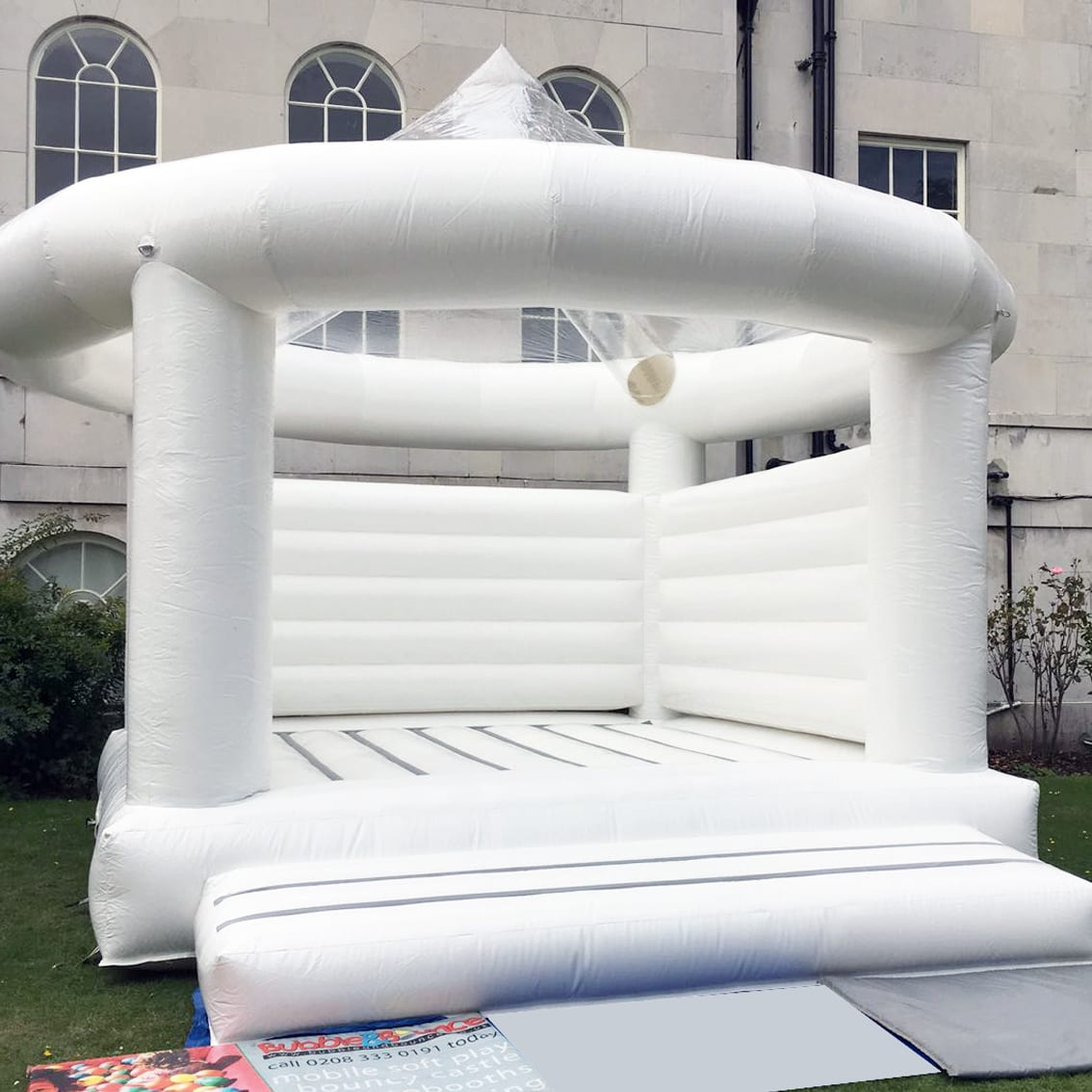 White Bouncy Castle Hire