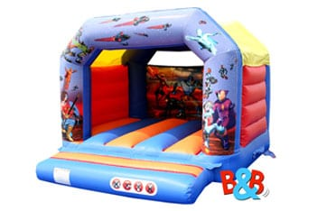 Action Hero Bouncy Castles Hire
