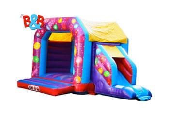 Combi Bouncy Castles Hire