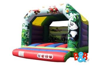 Jungle Bouncy Castle Hire