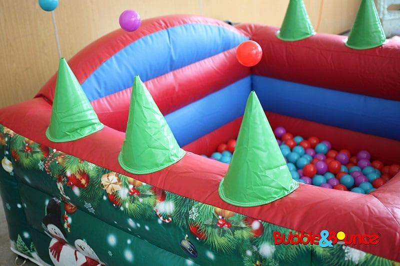 Christmas ball pond
