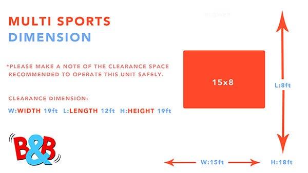 Multi Sports Dimensions