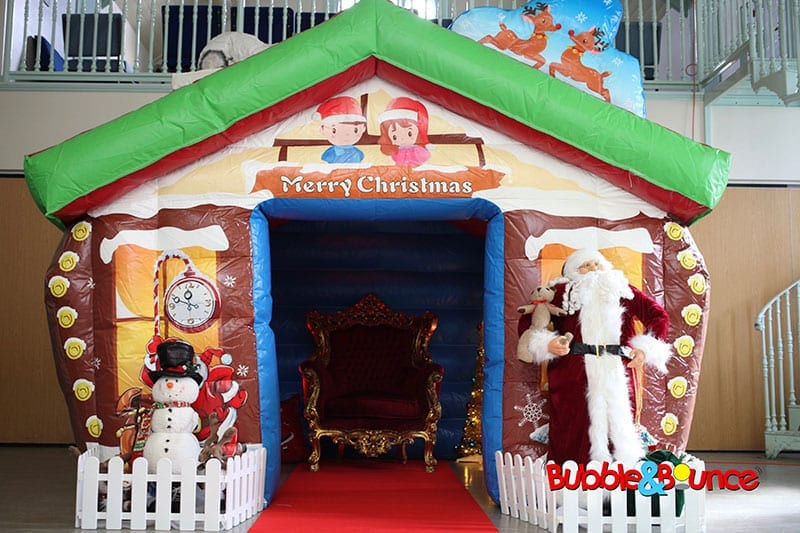how to set up a santa grotto
